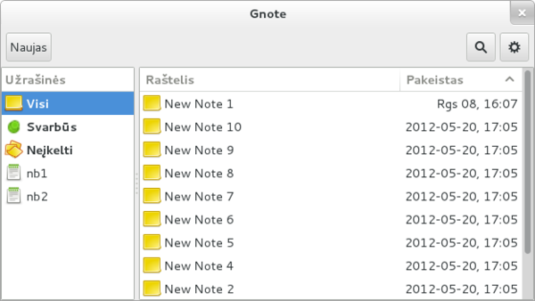 gnote