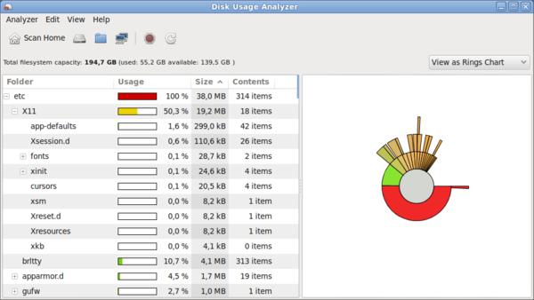mate-disk-usage-analyzer