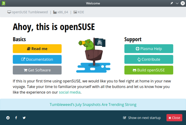 opensuse-welcome
